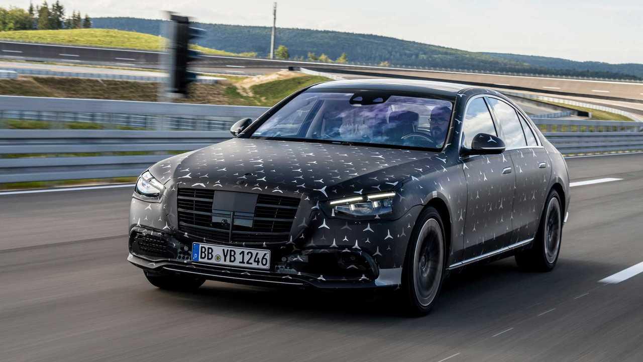 Новый Mercedes-Benz S-класса - технологии безопасности