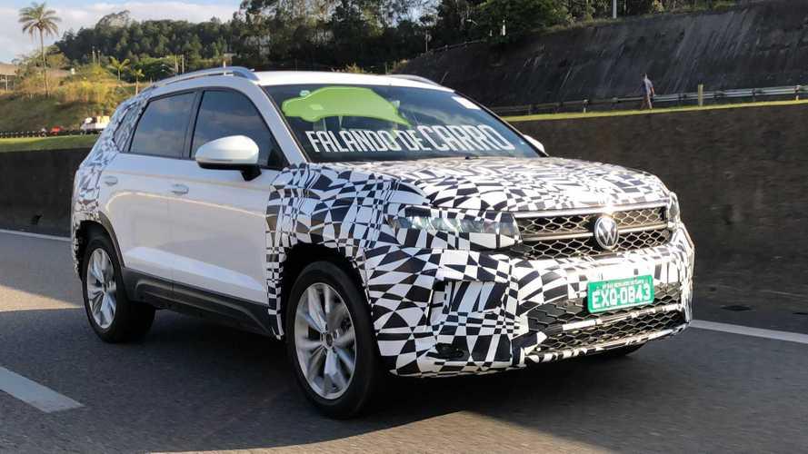 Flagra: VW Tarek 2021 já roda em versão final com novo visual e mais equipamentos