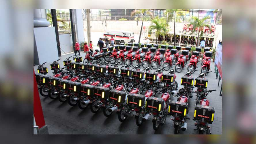 Honda Donates 104 Motorcycles To The Philippine Red Cross