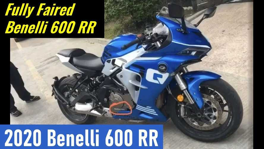 Is This The New Benelli 600RR Sportbike?