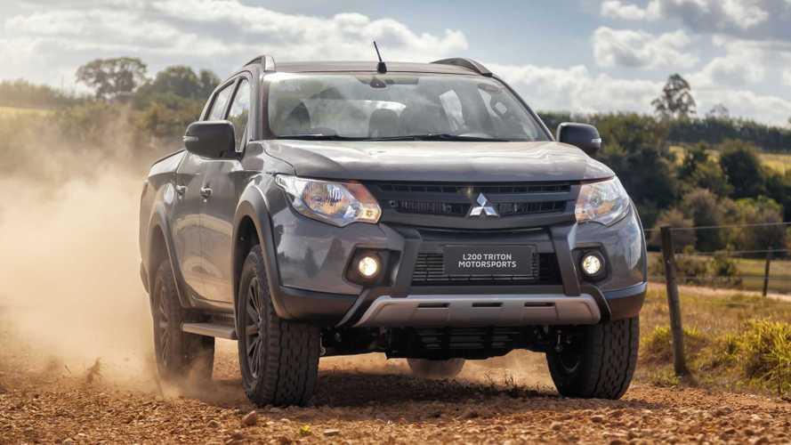 Mitsubishi L200 Triton ganha série especial Motorsports por R$ 179.990