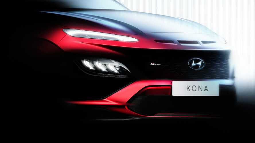 2021 Hyundai Kona Facelift Teased With Sporty N Line Model