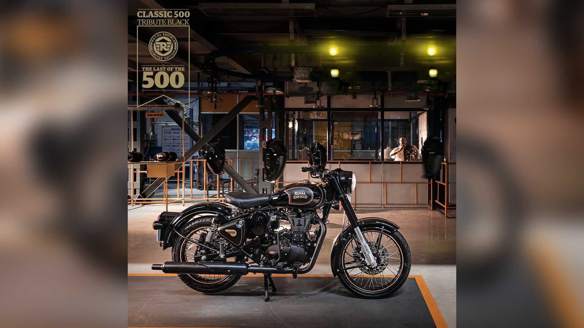 Royal Enfield Classic 500 Tribute Black Edition Landing In Europe
