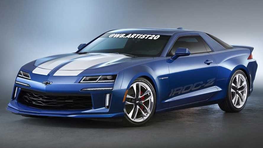 Would You Get Behind This Fan Rendering Of A Reborn Camaro IROC-Z?