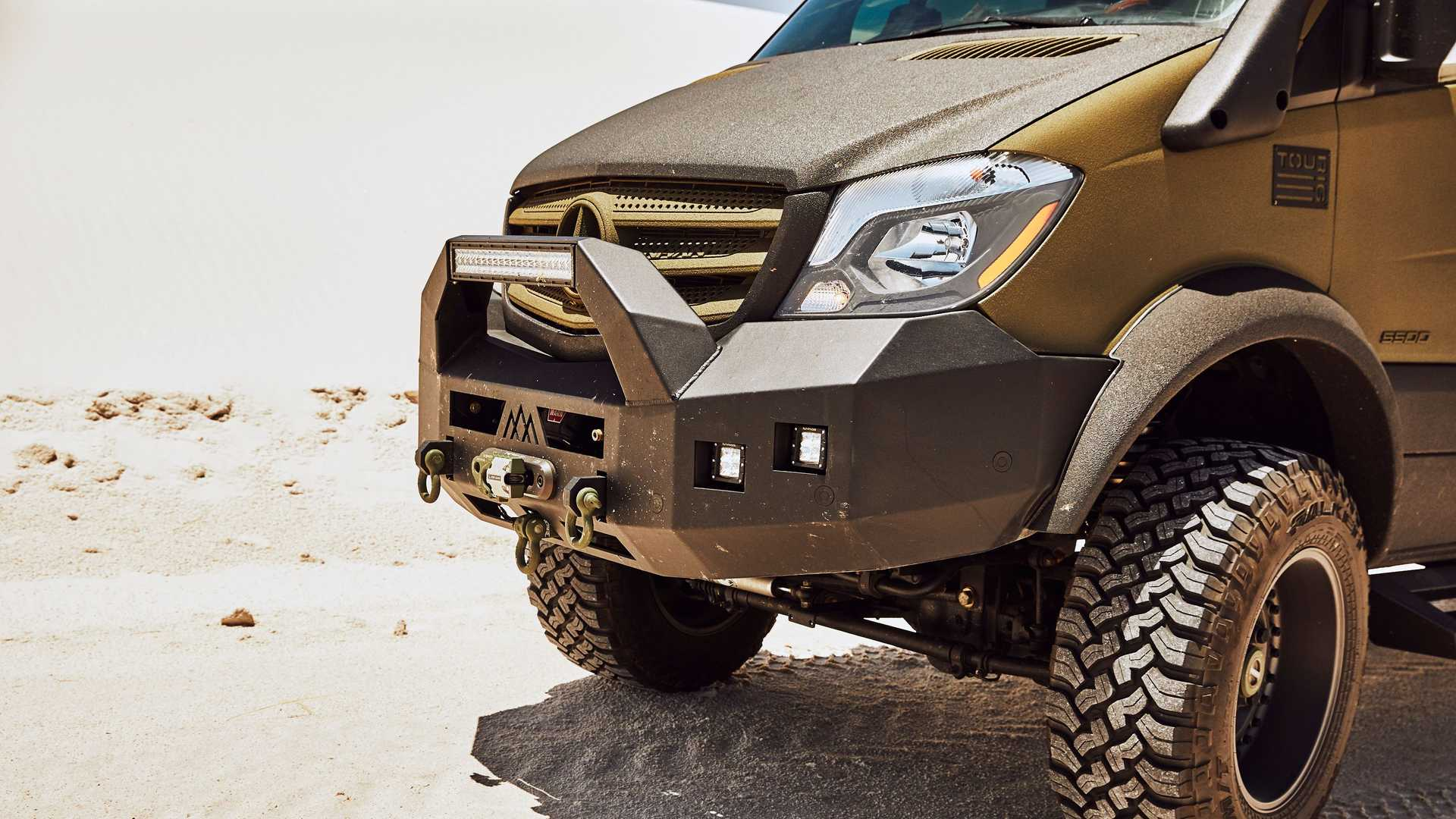 This Sprinter Expedition Camper Van Is Hulked Out For Off Roading