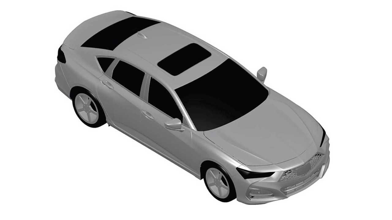 2021 Acura TLX Patent Images Leak