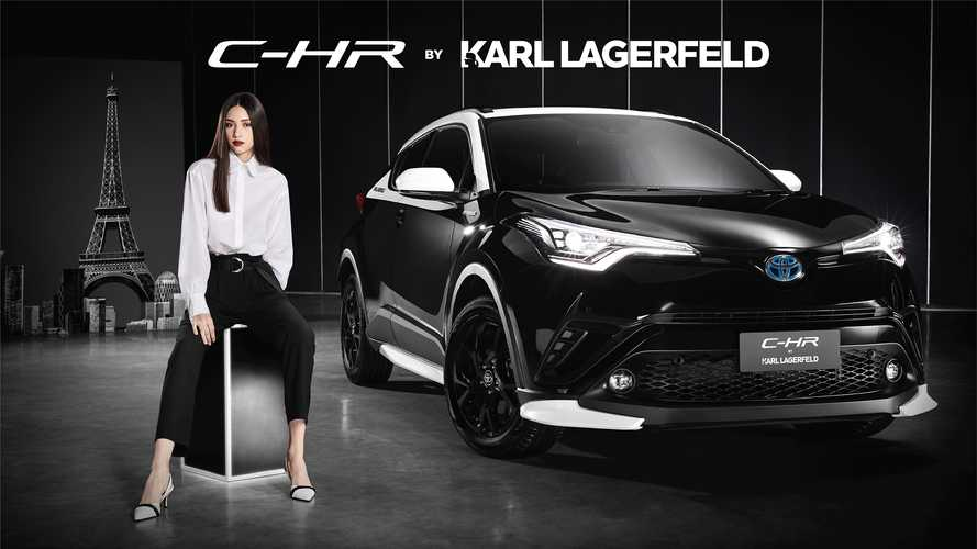 Toyota C-HR By Karl Lagerfeld Features Fashionable, Two-Tone Style