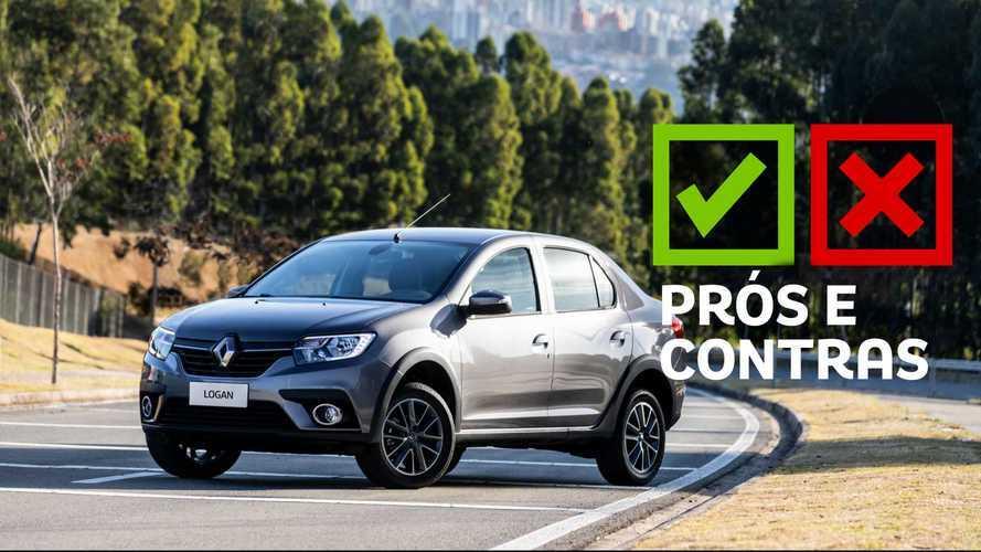 Renault Logan CVT Iconic 2020: Prós e Contras