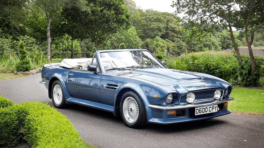 Rare Aston Martin V8 Vantage Volante X-Pack up for grabs!