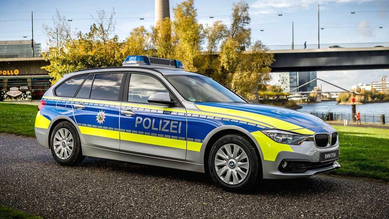 Polizeiautos in Deutschland: BMW 3er Touring