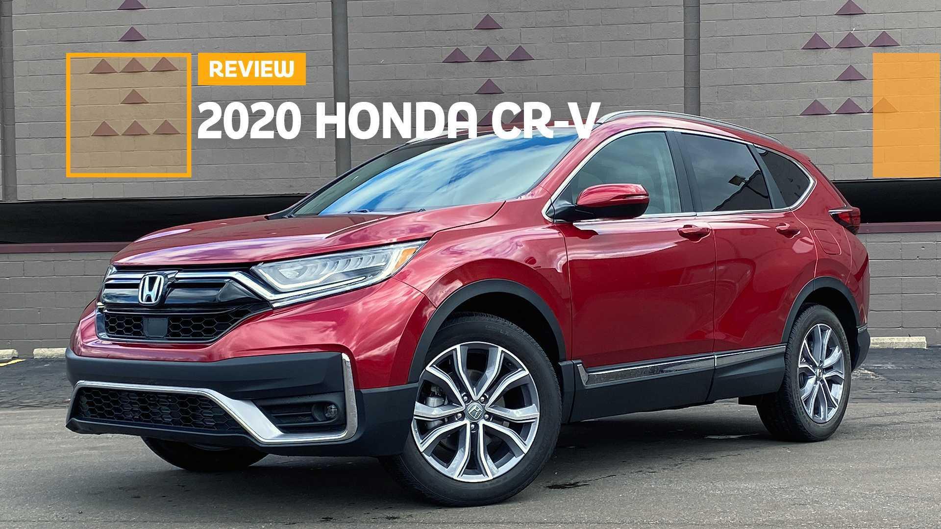 2020 Honda Cr V Touring Review Everyday Ally