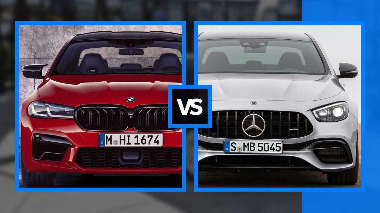 BMW M5 vs E63 AMG 002