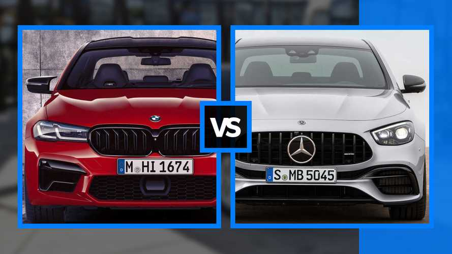 BMW M5 vs Mercedes E63 AMG: New super saloons compared