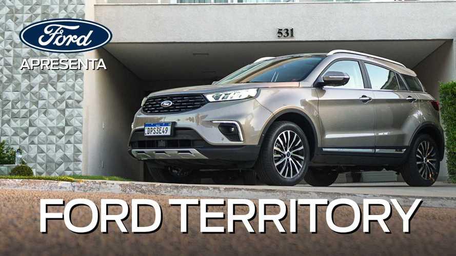 Ford Territory chega elevando nível de conforto, tecnologia e conectividade