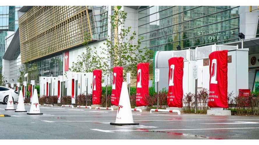 Beijing Gets First V3 Supercharger, More To Come