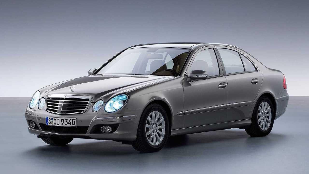 2002 bis 2009: Mercedes-Benz Baureihe 211
