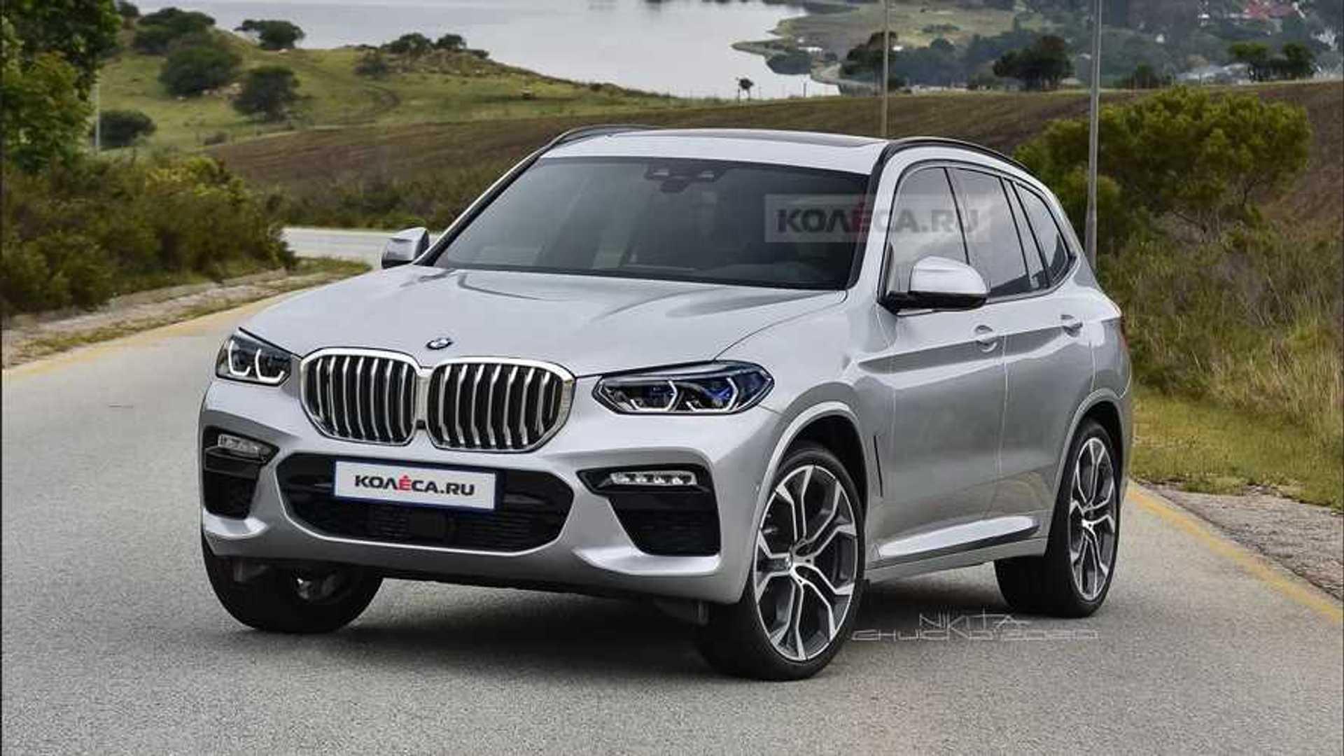 2021 BMW X3 makyajlı gövdesiyle hayal edildi