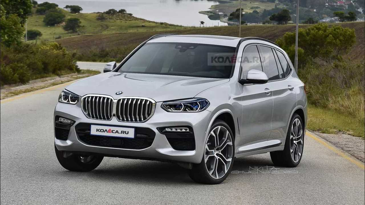 2022 BMW X3 Front Unofficial Rendering