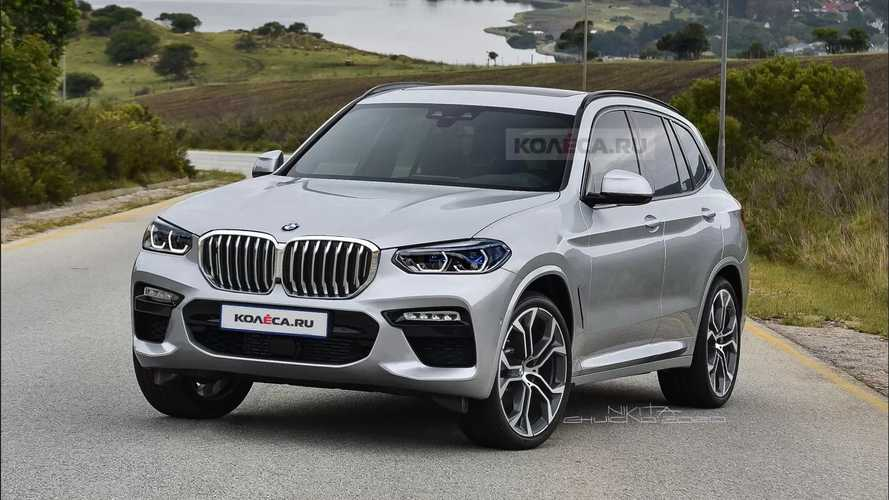 2022 BMW X3 Unofficial Rendering