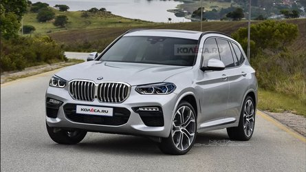 2022 BMW X3 unofficial rendering depicts a mild facelift