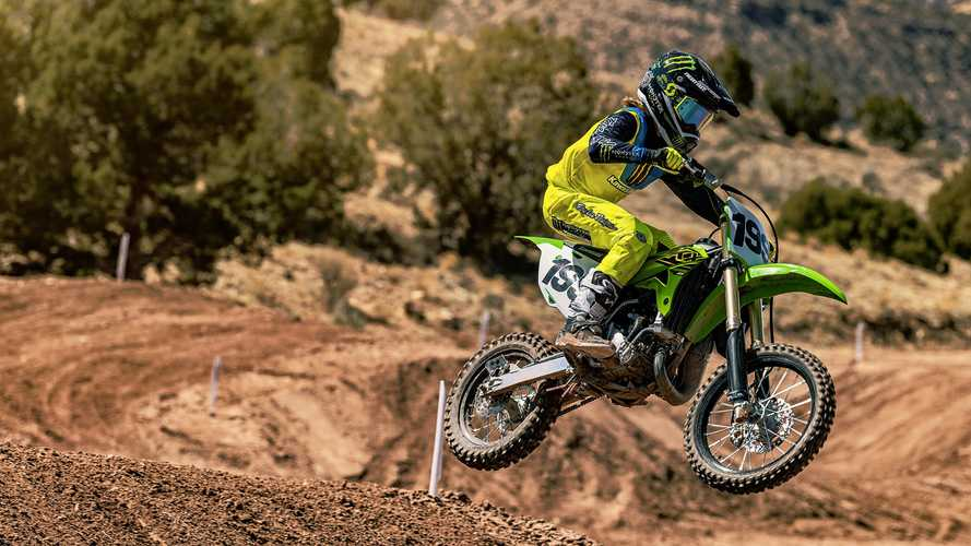 Kawasaki 2021 KX Baby Motocross Range Announced