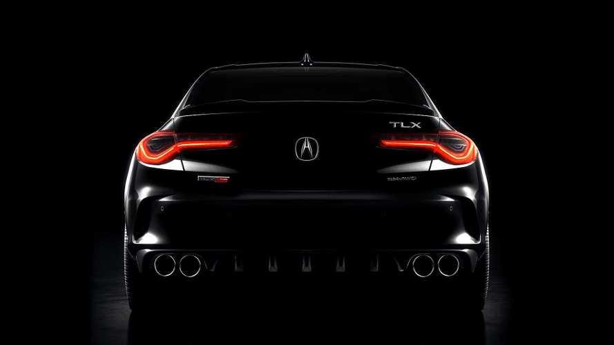 Acura начнет представлять новый TLX с «заряженной» версии