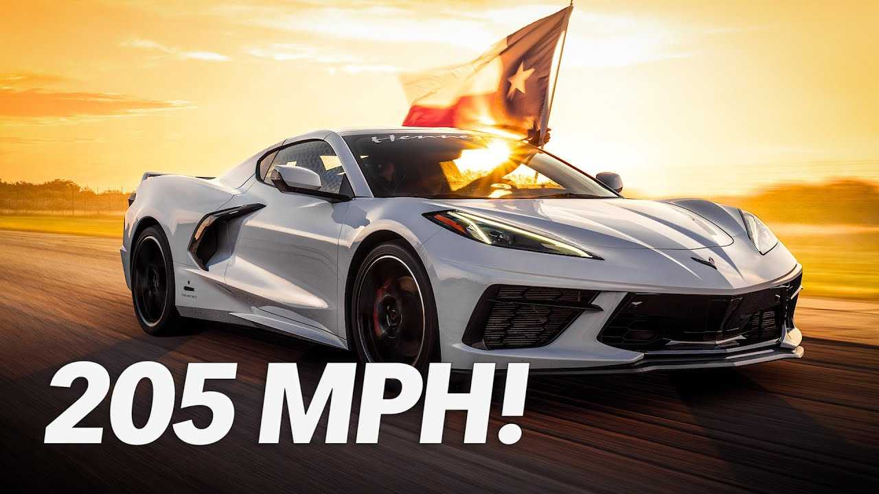 2020 Hennessey C8 Corvette Top Speed Run