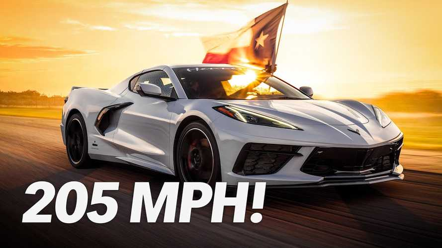 Videó: Átlépte a Hennessey Corvette C8-a a 330 km/h-t