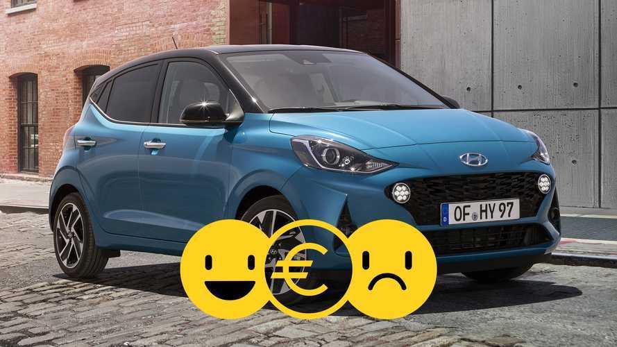 Promozione Hyundai i10 1.0 MPI Tech, perché conviene e perché no
