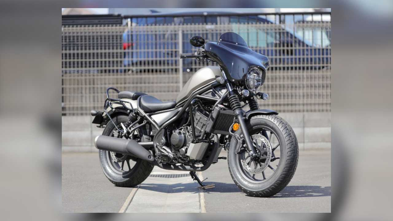 Make Your Honda Rebel Look Like A Mini Harley With This Touring Kit