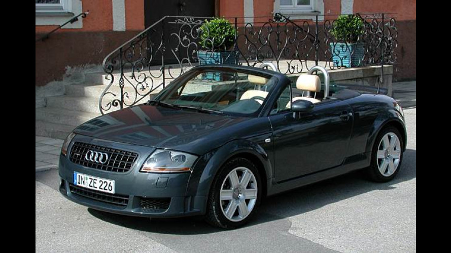 Audi TT Roadster 3.2 quattro: V6-Sportler mit super Sound