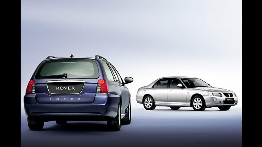 Rover: Mittelklassemodell 75 mit Facelift und mehr Auswahl
