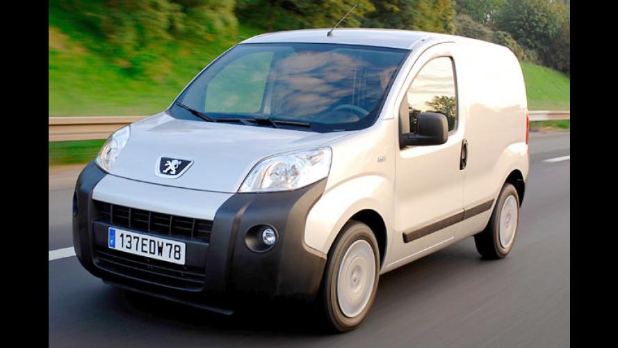Ab Ende Februar 2008 erhältlich: Der Peugeot Bipper kommt