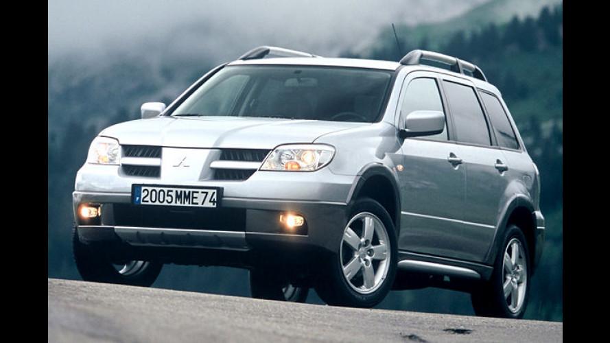 Mitsubishi Outlander: Facelift und neue Antriebsvarianten