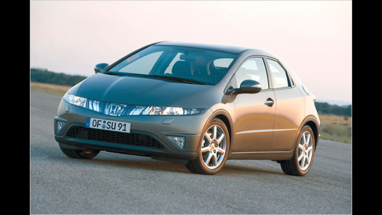 Honda Civic 2.2 CTDi Comfort 5-türig