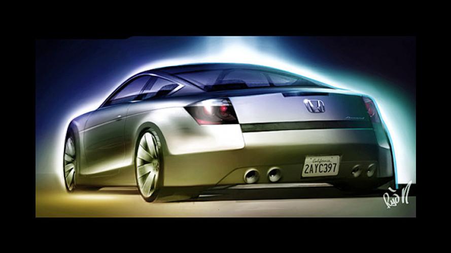 2007: Honda Accord Coupé soll Mittelklasse-Markt beleben