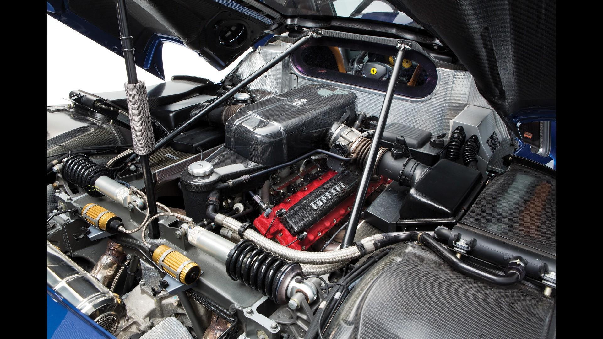 Barely Used Ferrari Enzo Engine Costs 375 000