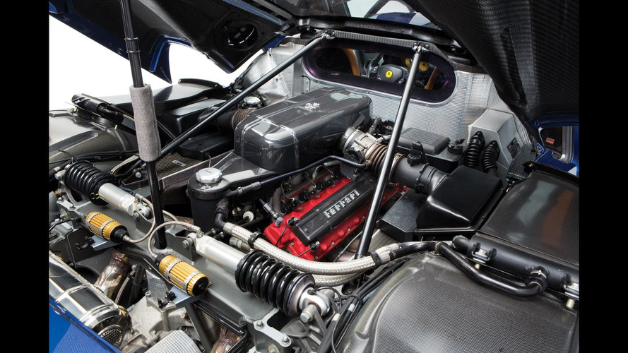 Barely Used Ferrari Enzo Engine Costs $375,000