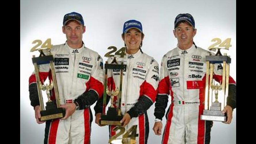 24 Stunden von Le Mans: Dreifach-Erfolg für Audi