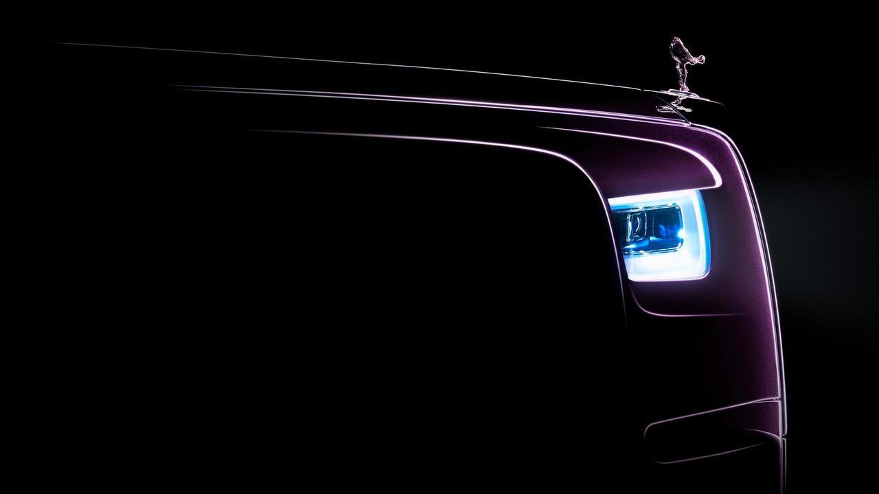 Yeni 2018 Rolls-Royce Phantom teaser