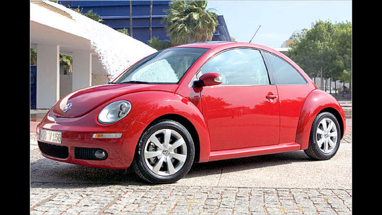 VW New Beetle 1.4