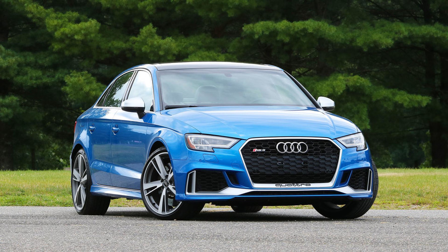 Audi RS3 Saloon quicker than advertised, even with winter tyres