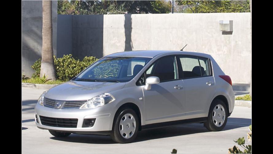 Die Gezeiten ändern sich: Nissan Tiida kommt nach Europa