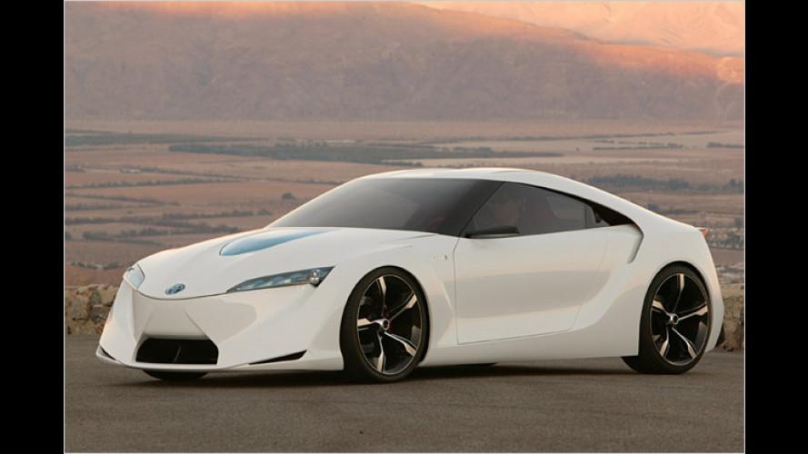 Toyota FT-HS: Vision vom Sportwagen des 21. Jahrhunderts