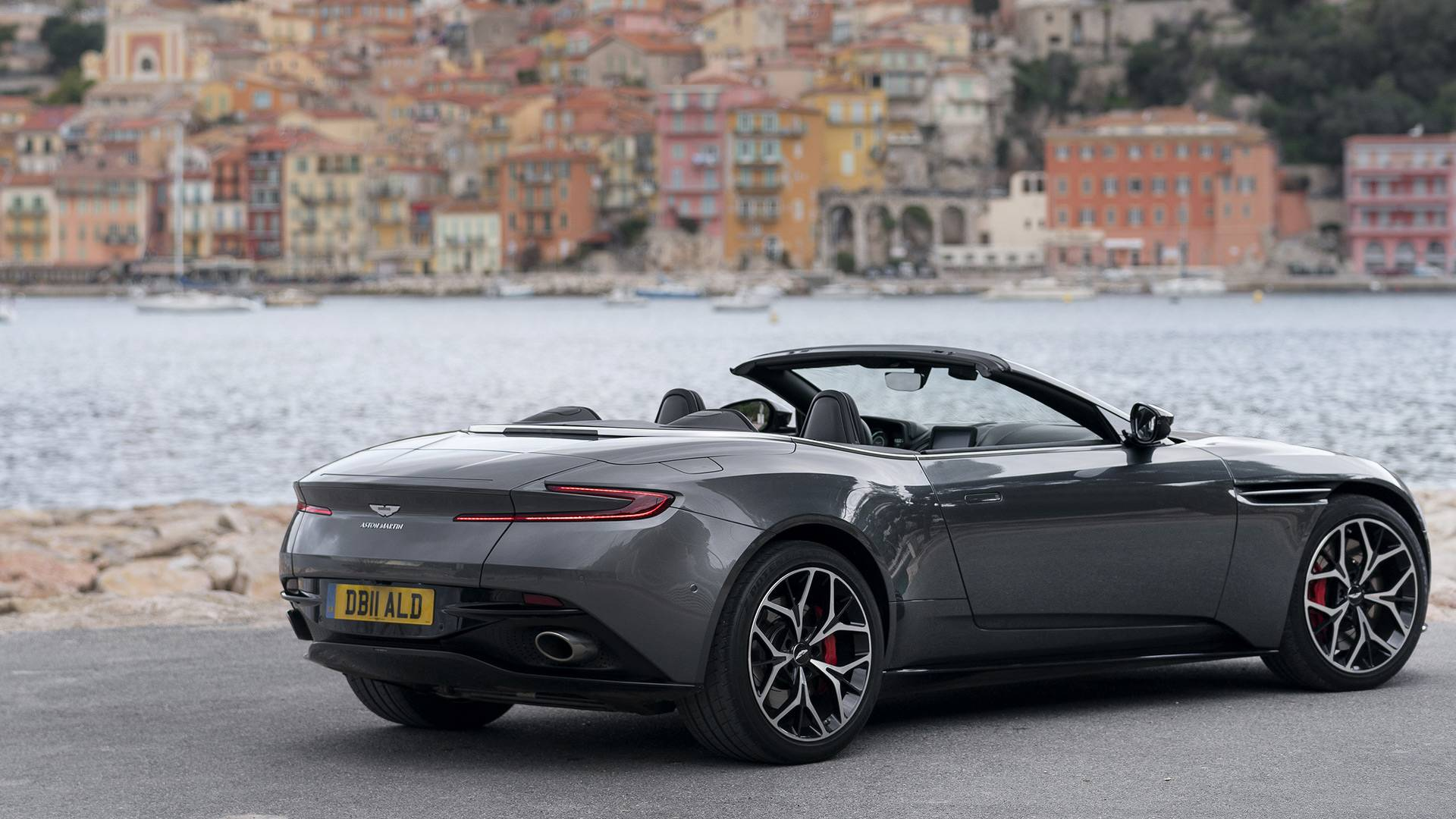 2019 Aston Martin Db11 Volante First Drive Lost And Found
