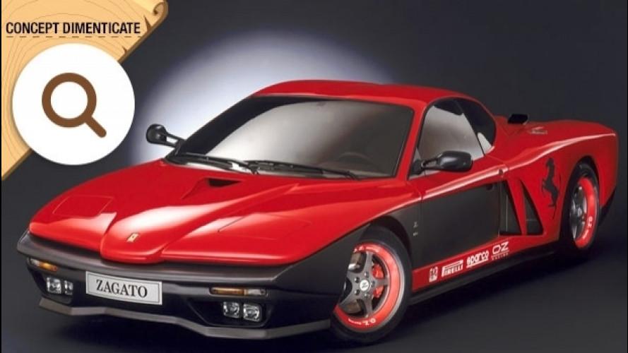 Ferrari FZ93, il Cavallino con le gobbe