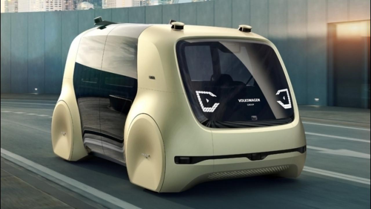[Copertina] - Volkswagen Sedric Concept, il volto amico della guida autonoma