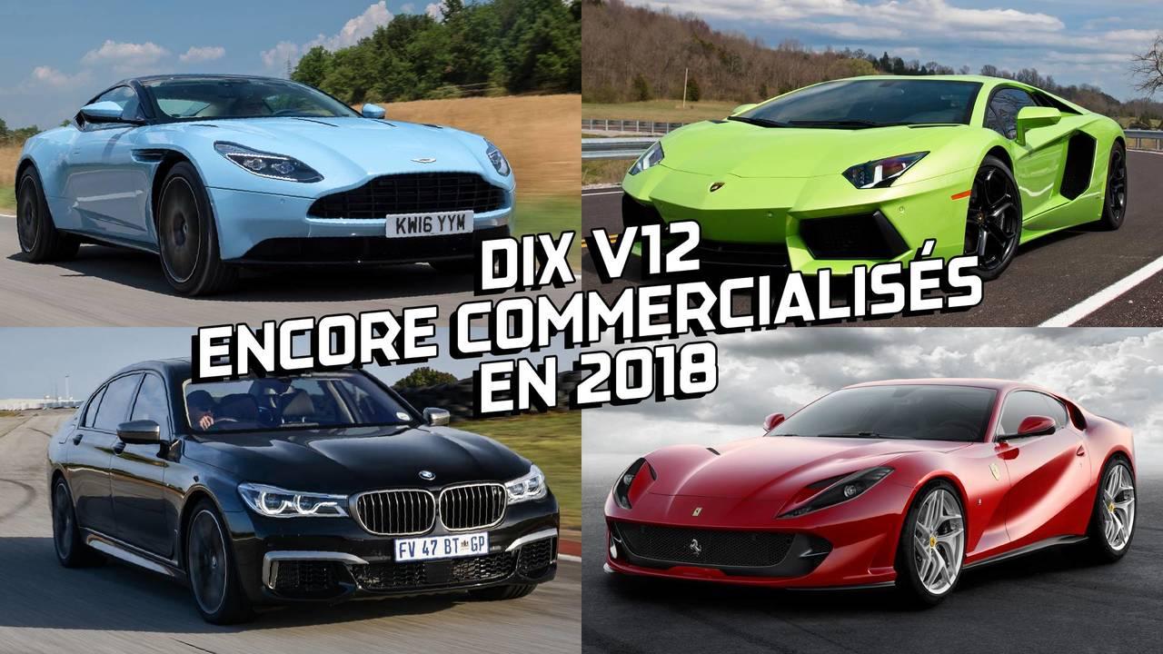 Moteur V12, Ferrari, Lamborghini, Aston Martin, BMW