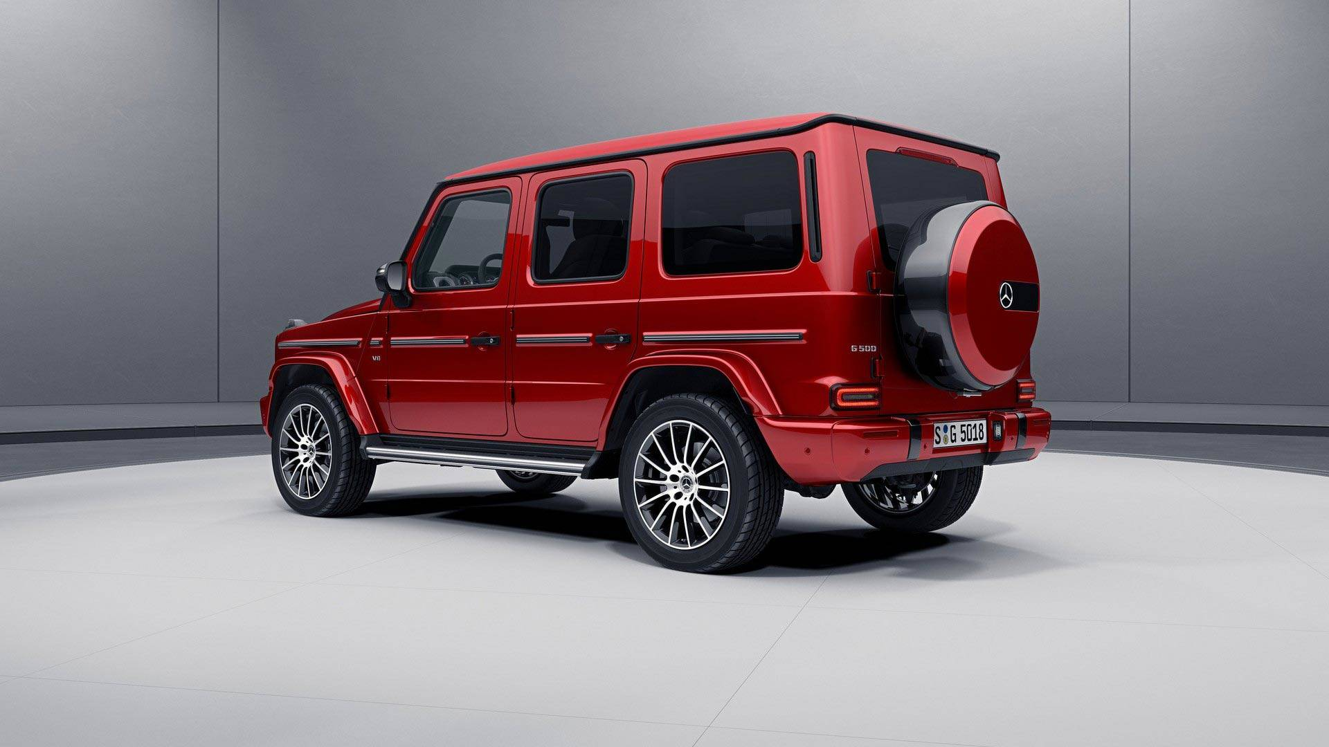 2019 mercedes g class goes dark with optional night package
