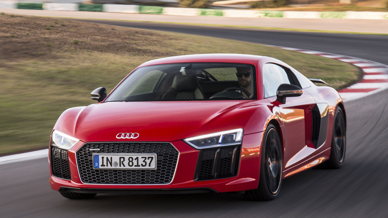 Audi R8 V10 plus Coupé: 2,71 Kilo pro PS